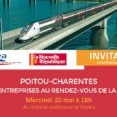 Débat en Poitou-Charentes : Territoires et Entreprises au rendez-vous de la Grande Vitesse