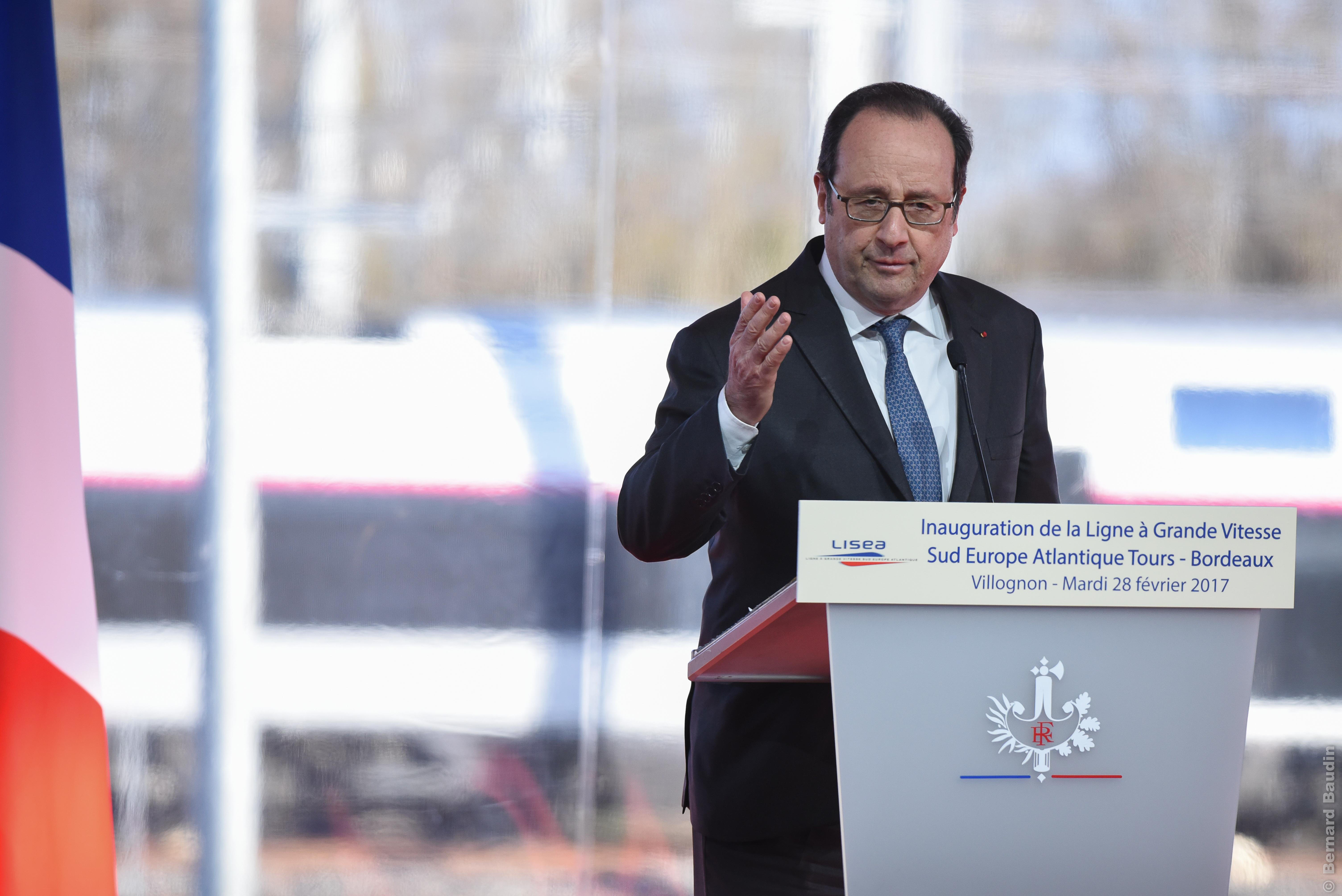 Revoir l'inauguration de la LGV SEA en présence de Monsieur François Hollande