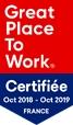 Certificat Great Place to Work de LISEA