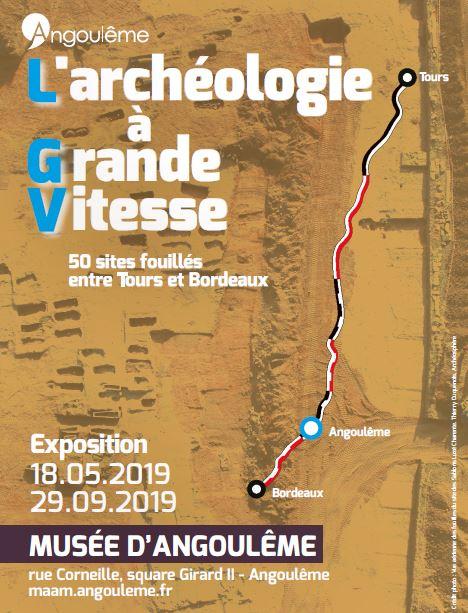 Présentation de l'expo archéo d'Angoulême