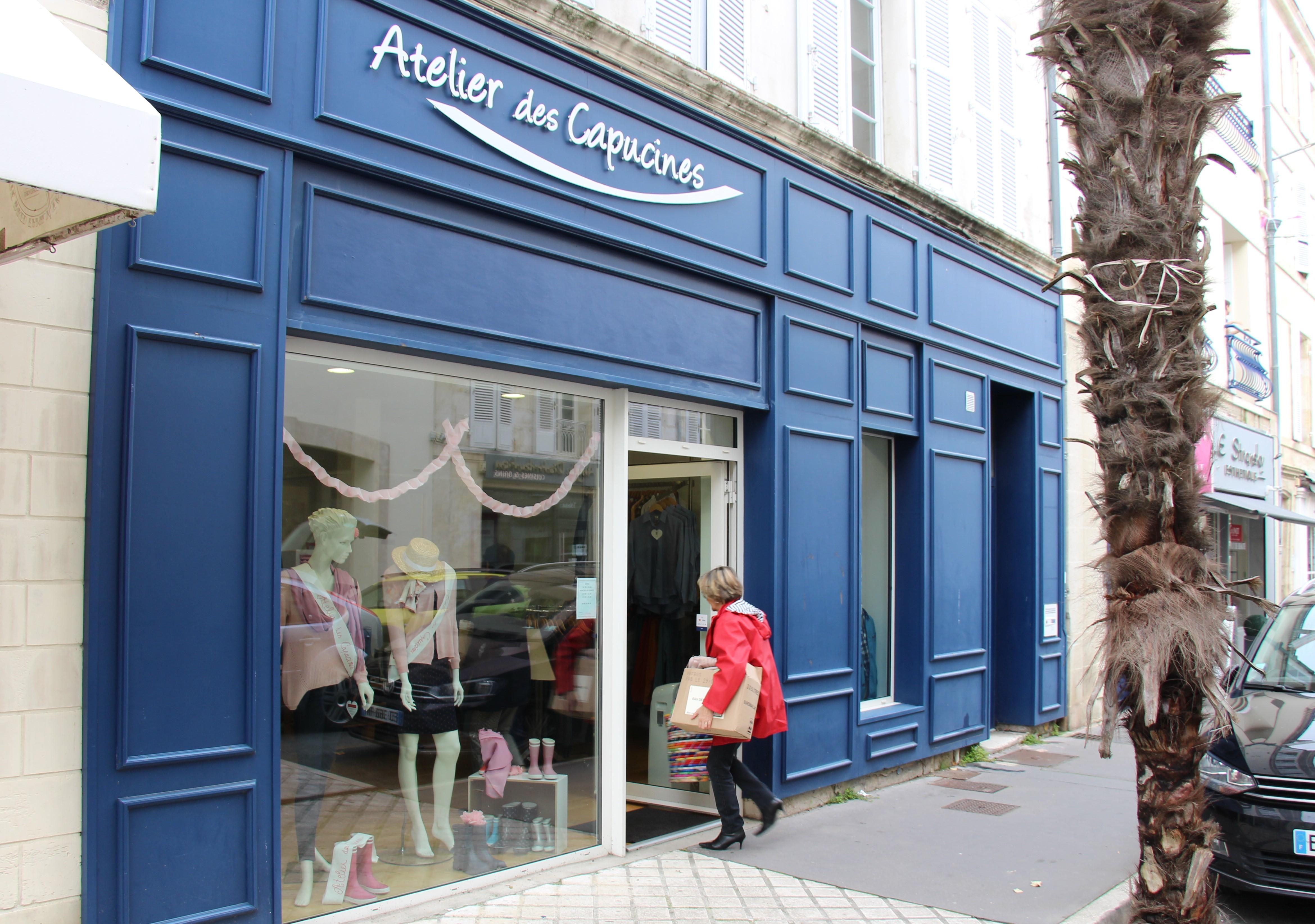 Atout solidaire Nouvelle boutique Rochefort 1