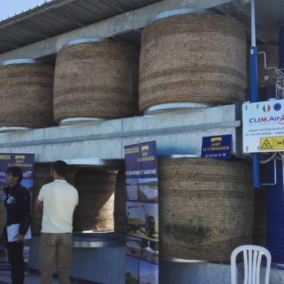 Fondation LISEA Carbone : inauguration d'un séchoir à luzerne à Mauzé-sur-le-Mignon