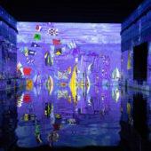 «Monet, Renoir… Chagall, Voyages en Méditerranée»… Découvrez la nouvelle exposition des Bassins de Lumières de Bordeaux